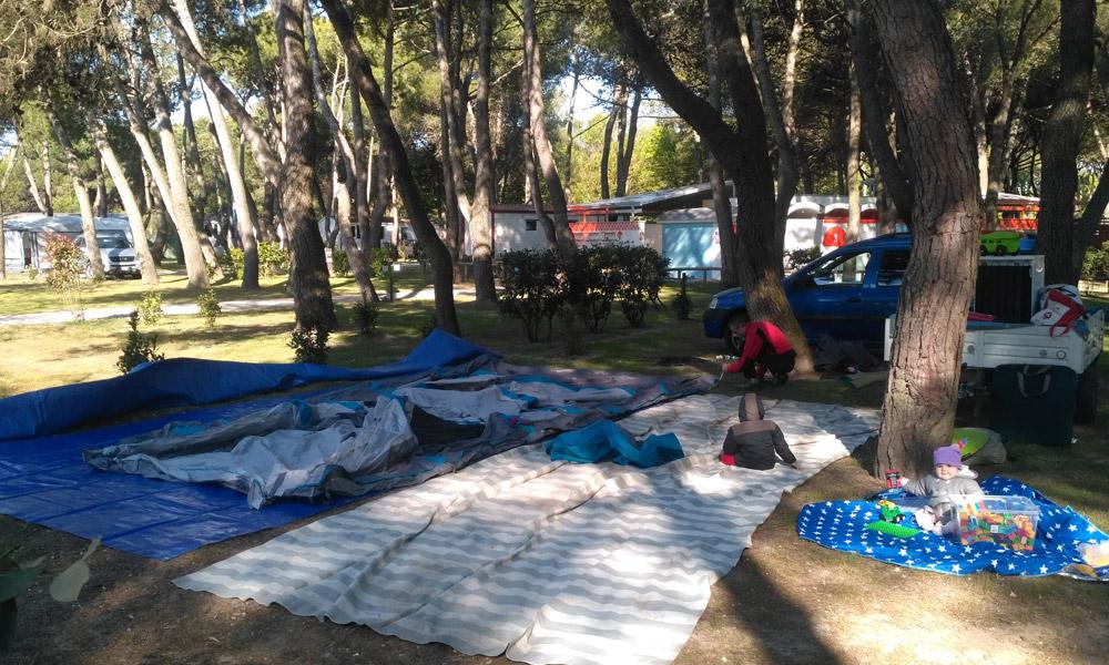 Vacanza in tenda: la parola ai bambini