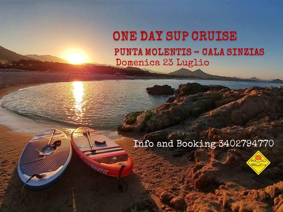 Last minute: One day SUP cruise a Punta Molentis e Cala Sinzias, Sardegna