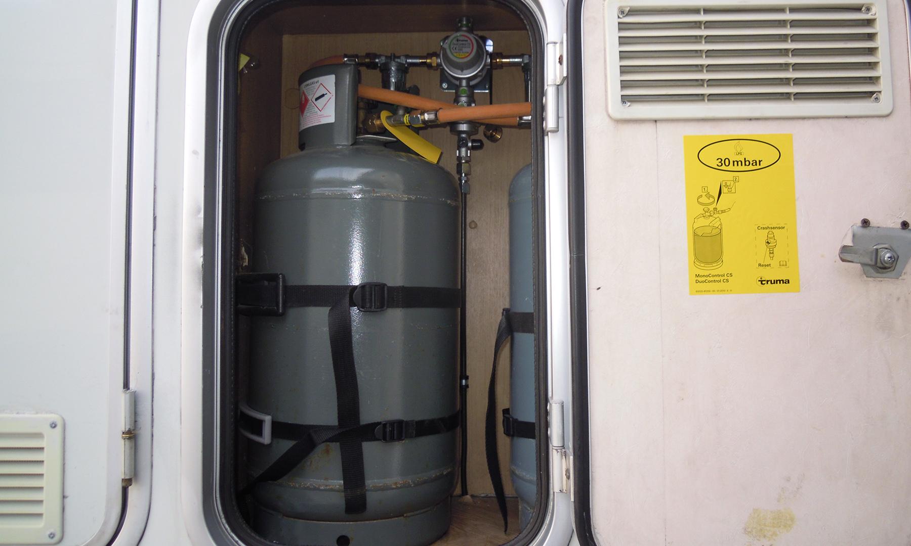 Fai-da-te su impianti del gas di camper e roulotte