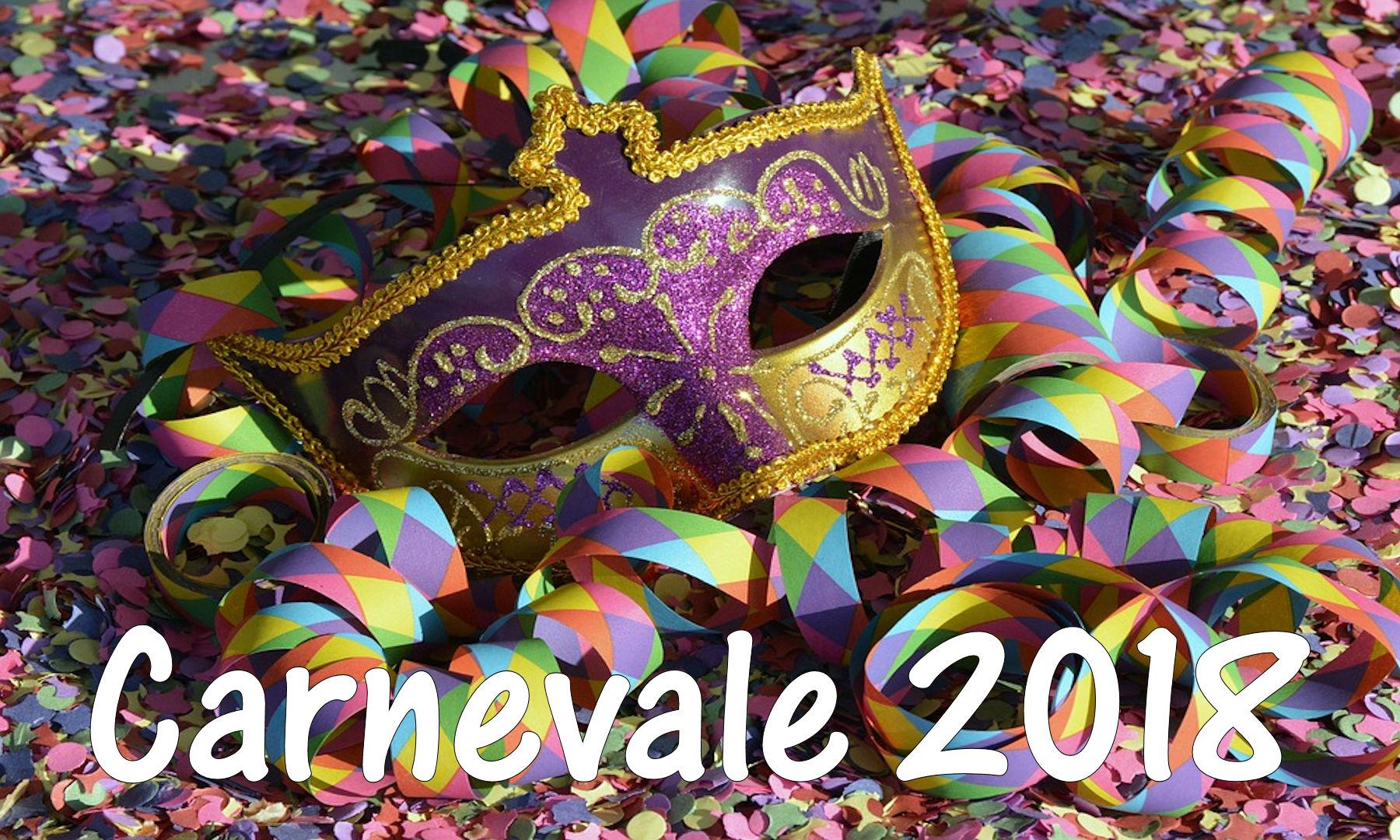 Carnevale 2018, alcune idee alternative