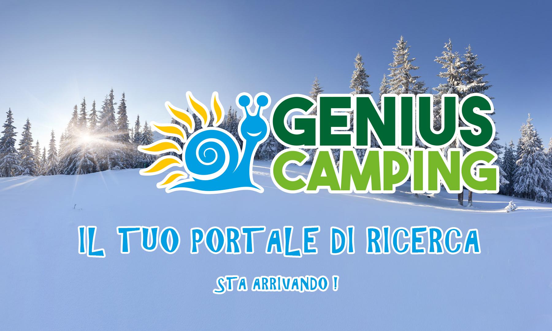 Genius Camping, il tuo portale di ricerca sta arrivando!