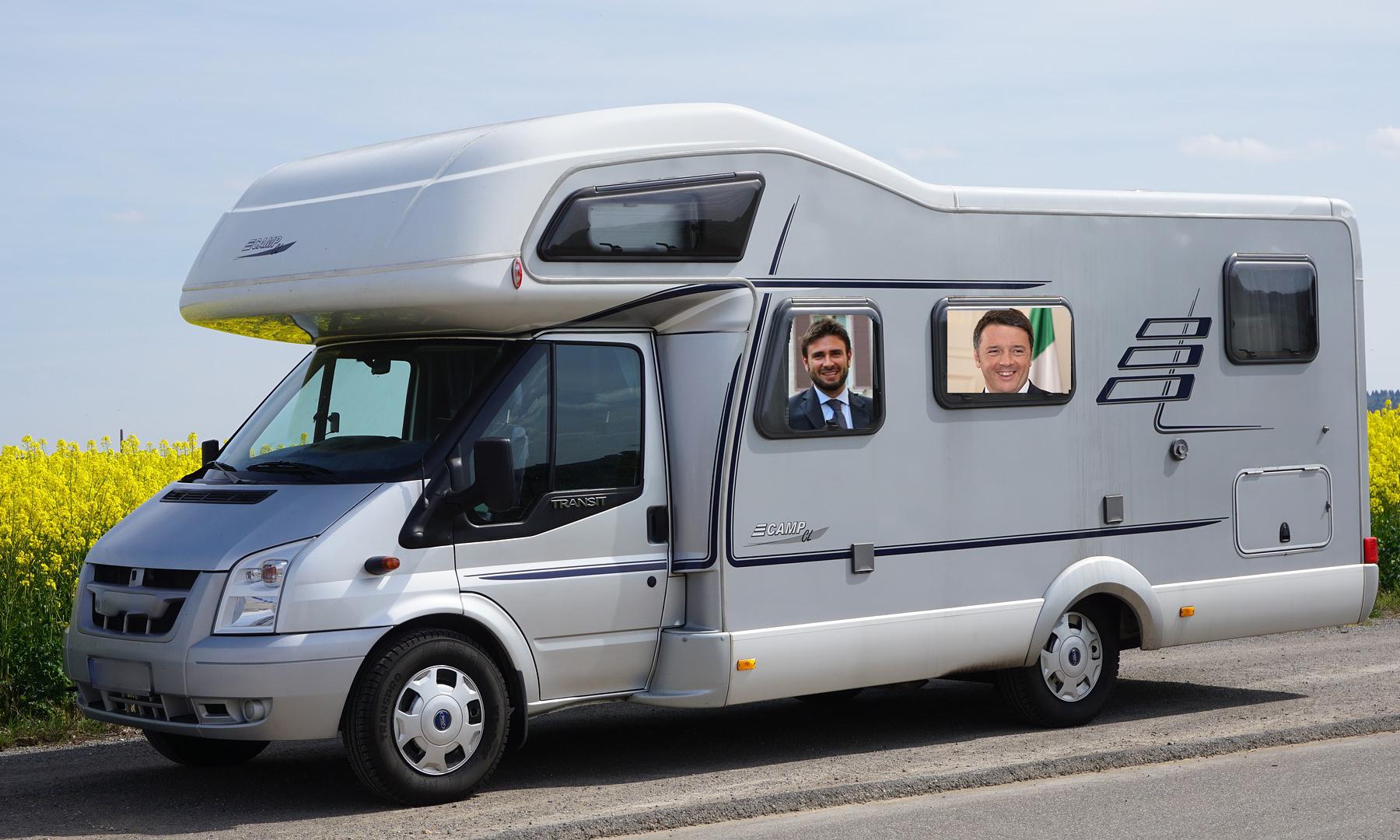 Campagne elettorali in camper