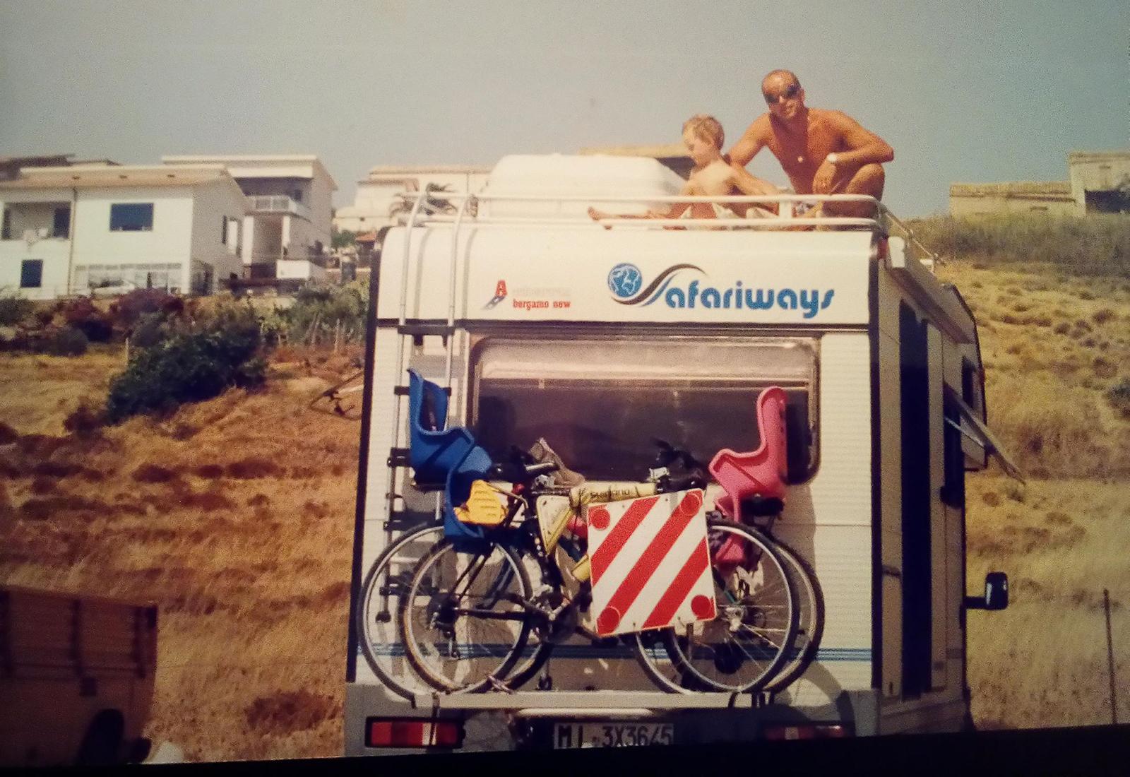 Camper negli anni 90