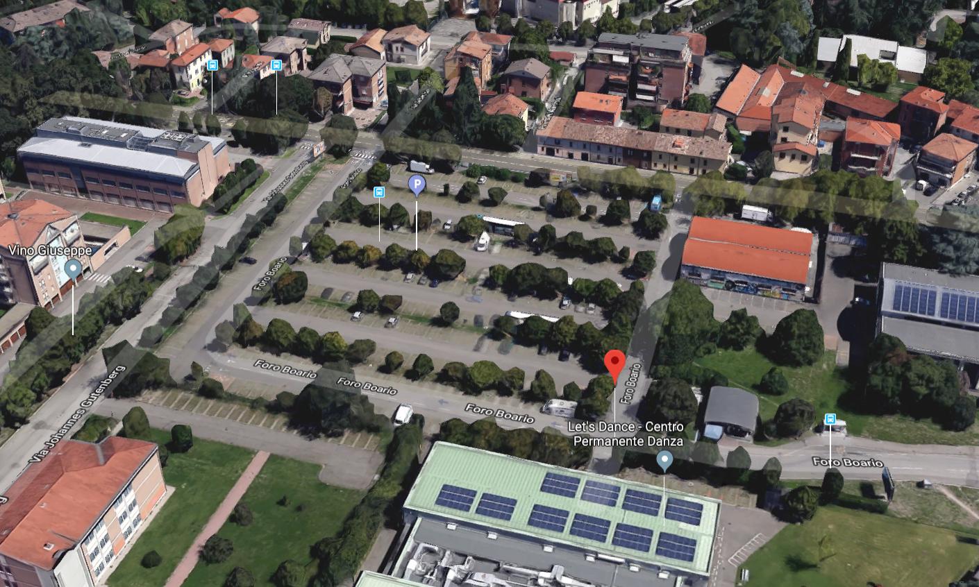 Reggio Emilia, parcheggio ex Foro Boario: nuove regole in vista per i camper?