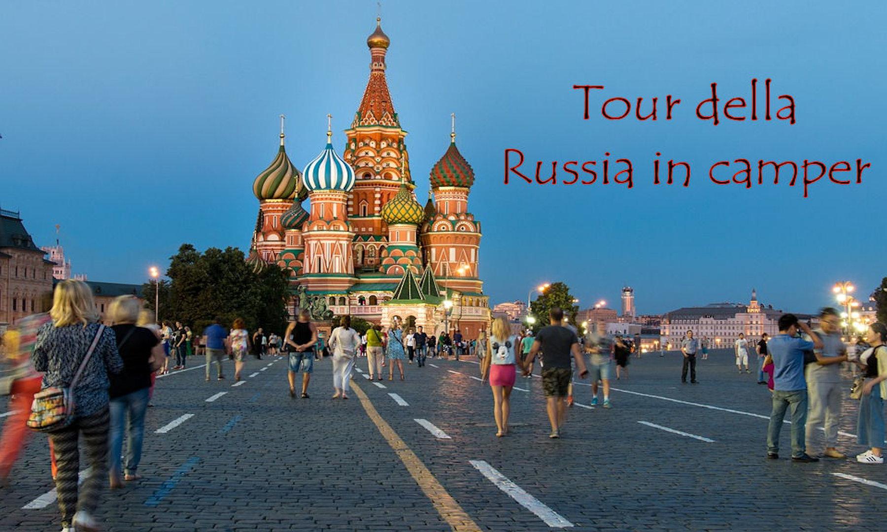 Tour della Russia in camper