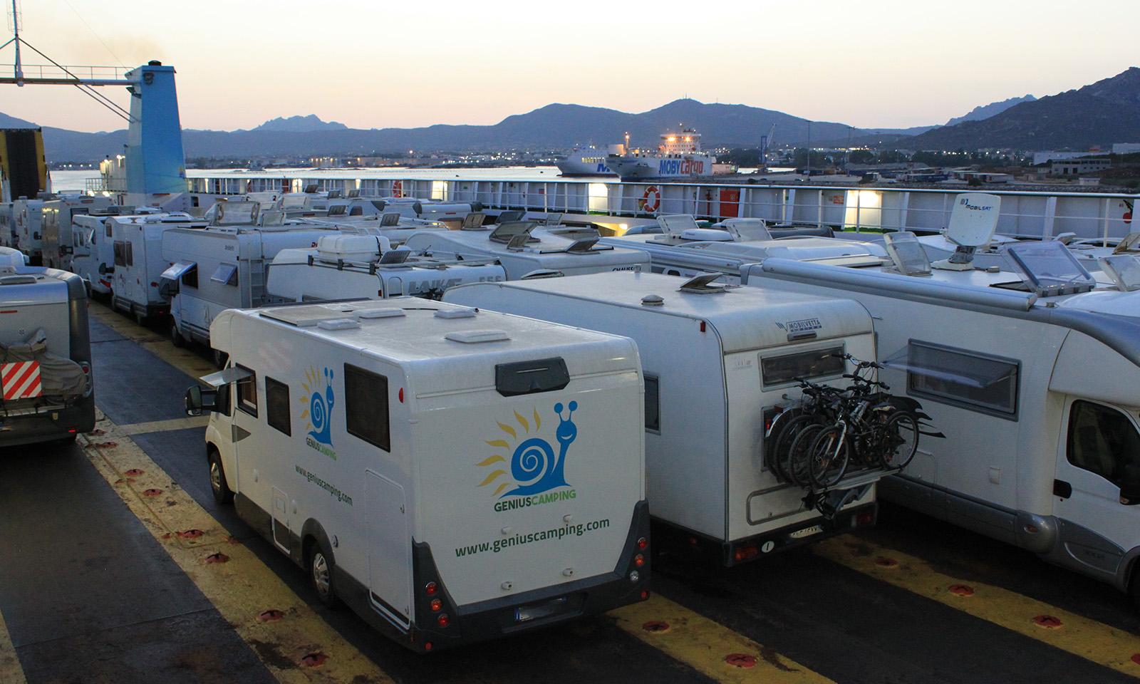 Camping on board Sardegna 2018: Moby conferma la tratta Piombino-Olbia