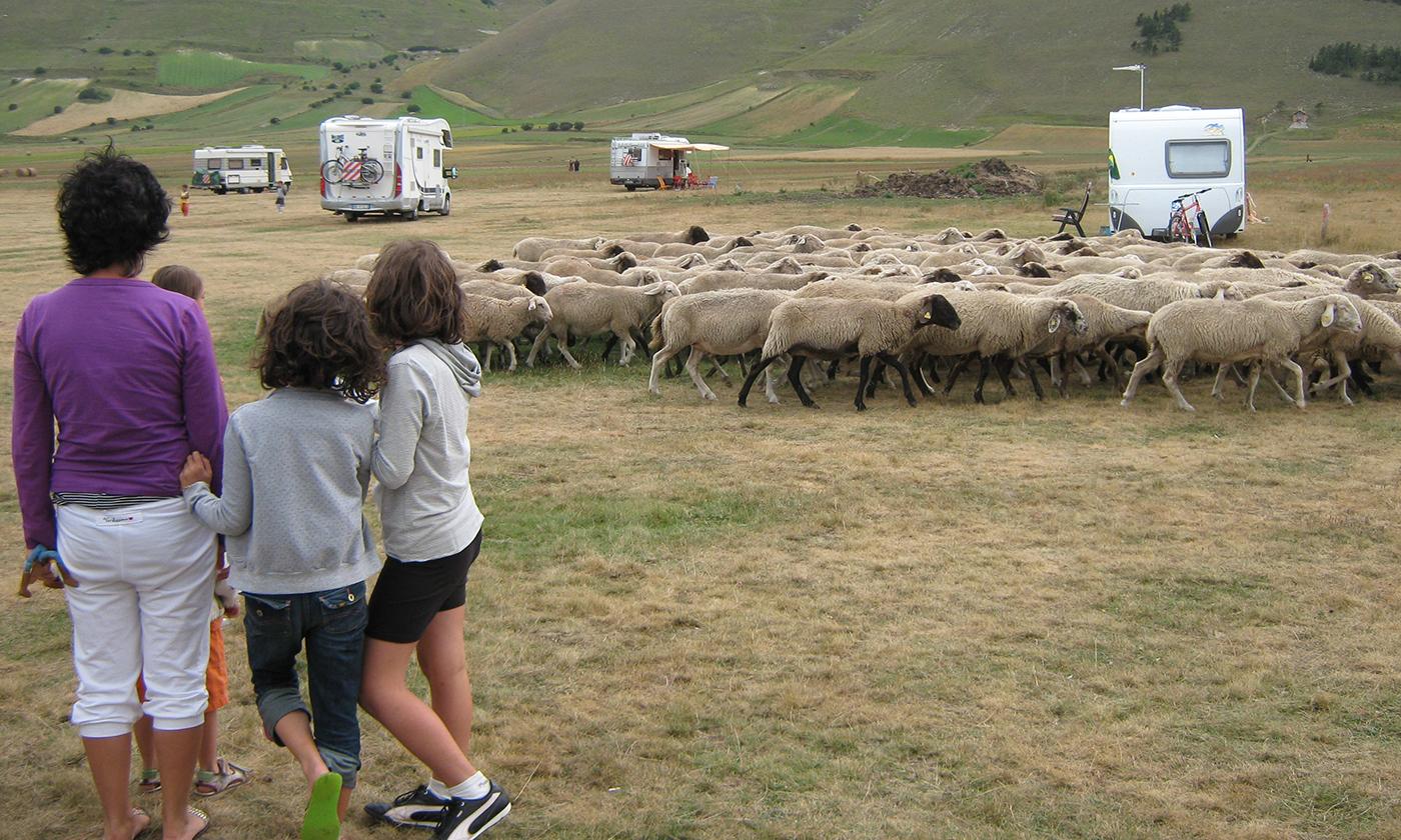 Marche, tra mare e monti in caravan: monti