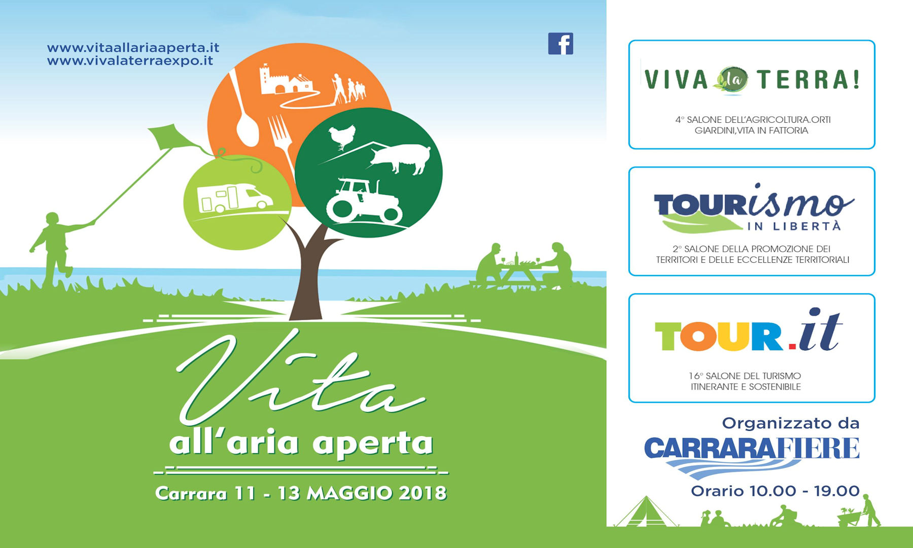 Vita all'aria aperta – Tour.it 11-13 Maggio 2018