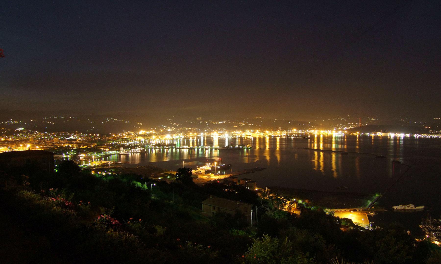 Nuova area camper in costruzione a La Spezia?