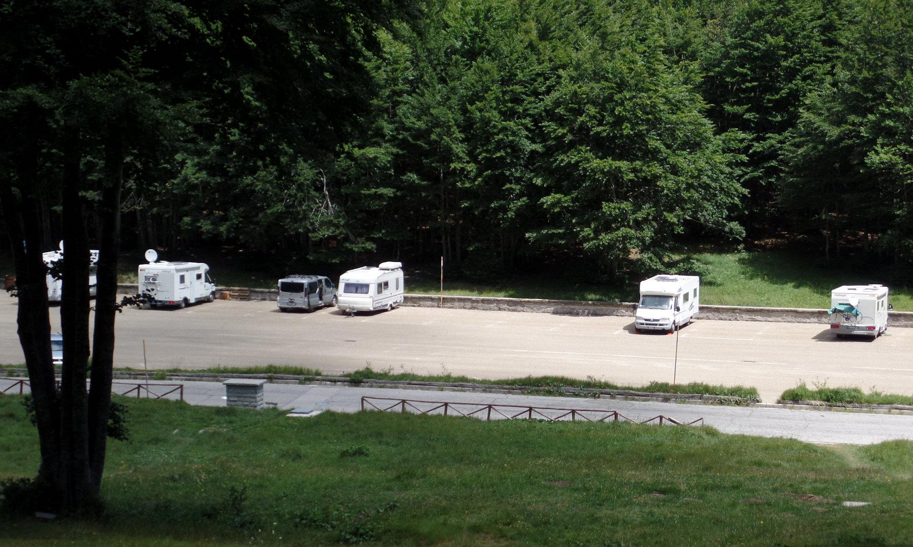 Weekend nel Casentino con la caravan