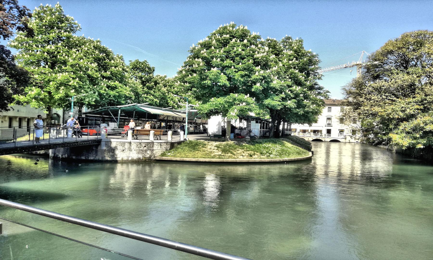 Treviso in camper - Isola dei pescatori