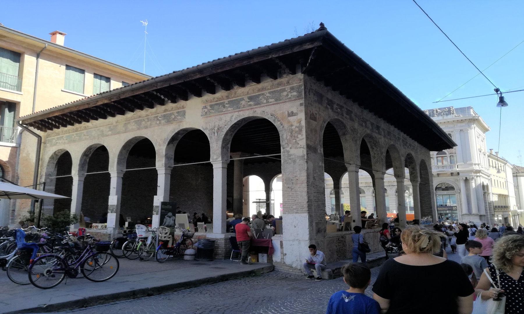 Treviso in camper - Vecchio mercato