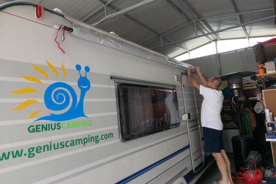tendalino faidate economico per camper e caravan