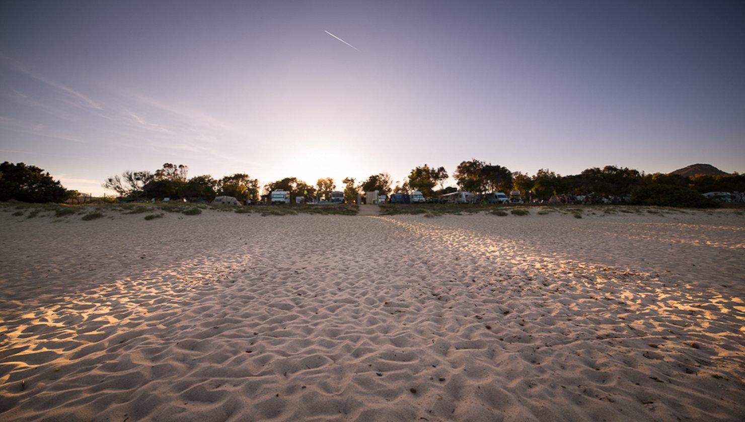 Settimane sarde al Camping Capo Ferrato, Costa Rei Settembre 2018