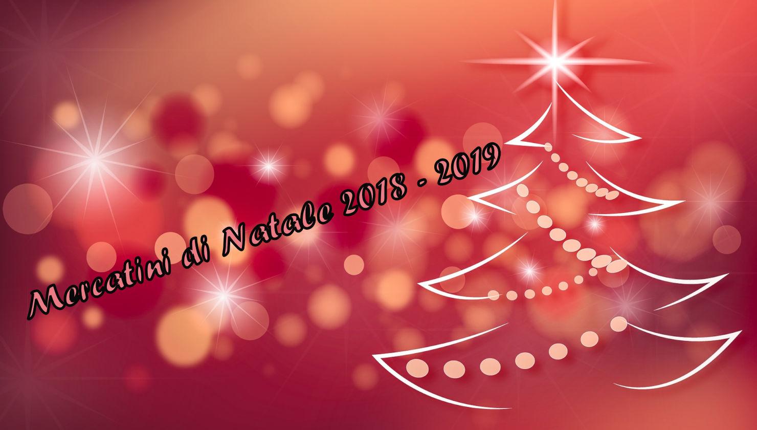 Mercatini di Natale in camper e non solo 2018