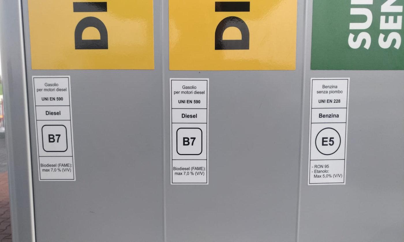 nuovi nomi dei carburanti