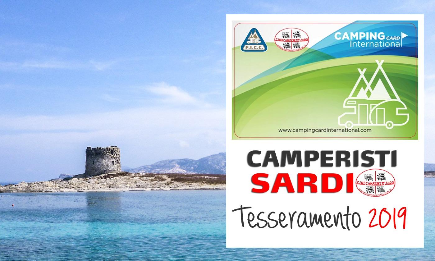 Camper Club Camperisti Sardi: riapre il tesseramento per rinnovo iscrizione e nuovi iscritti