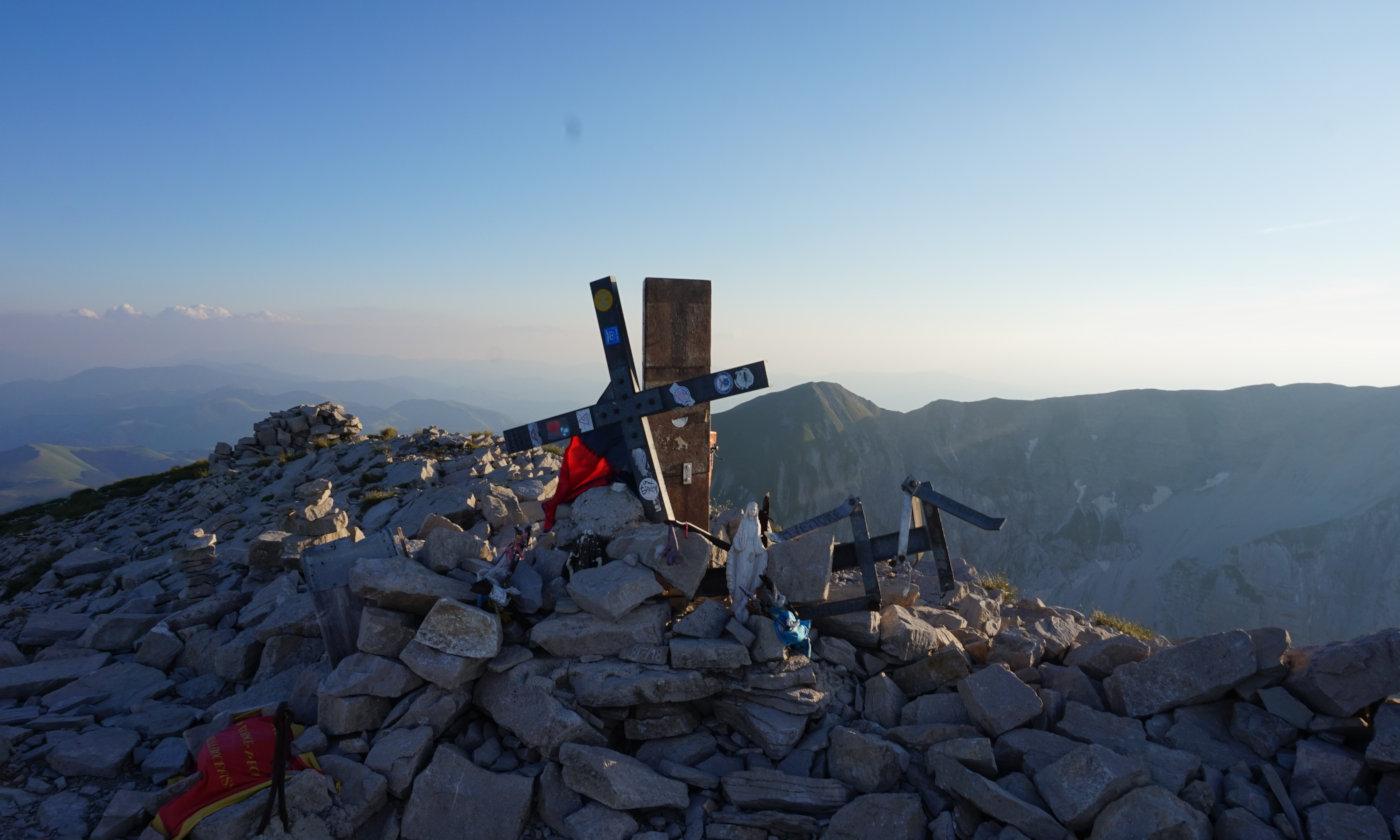 Trekking e campeggio libero sul Monte Vettore