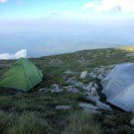 Campeggio selvaggio sul Monte Vettore