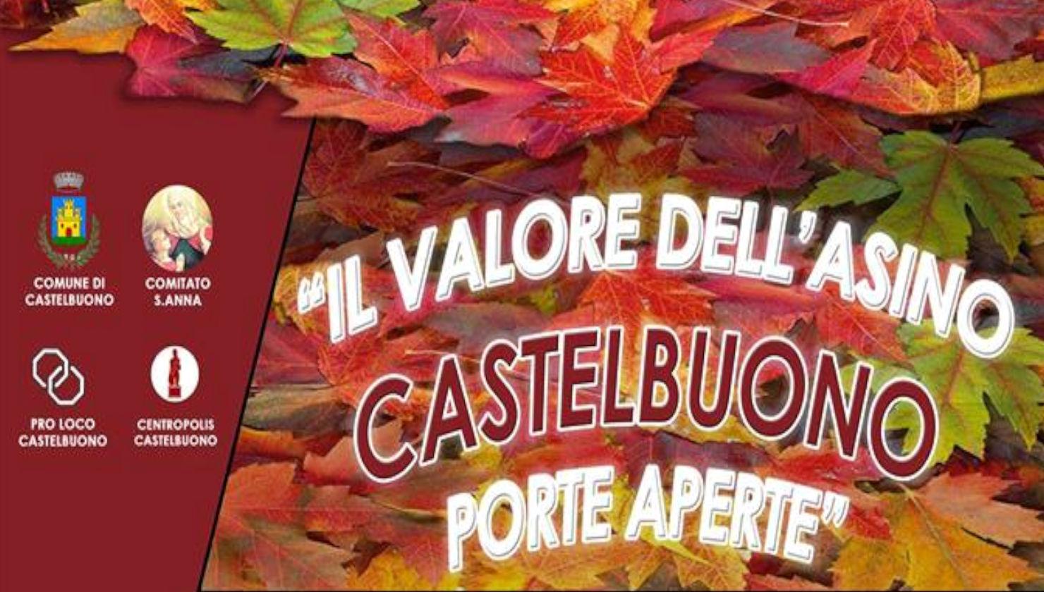 Il valore dell'asino a Castelbuono (PA) 16-18 novembre 2018