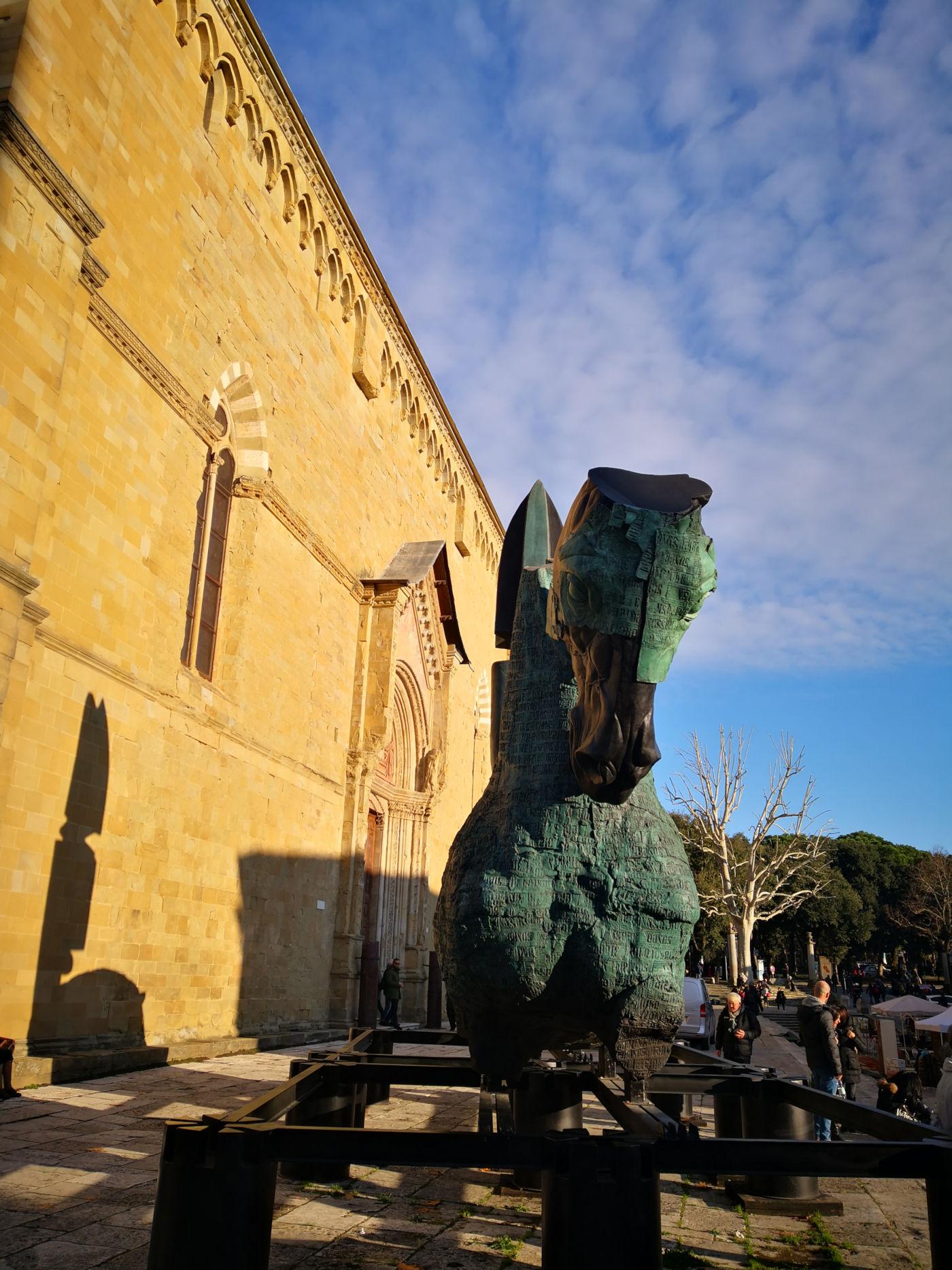 Arezzo e provincia viaggio itinerante in auto camper o roulotte