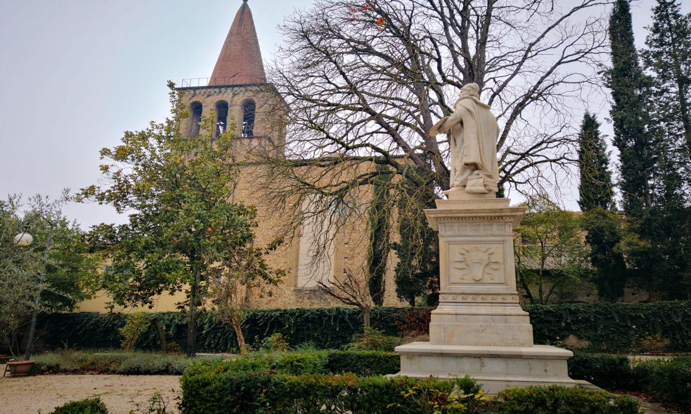 Arezzo e provincia viaggio itinerante in auto camper o roulotte - Sansepolcro