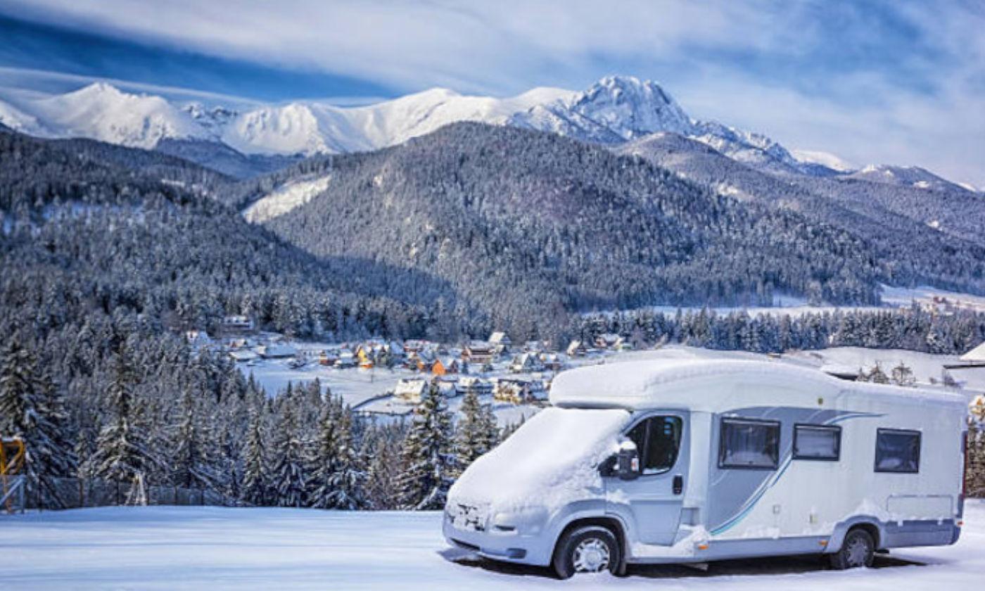 Consigli per utilizzare il camper in montagna in inverno