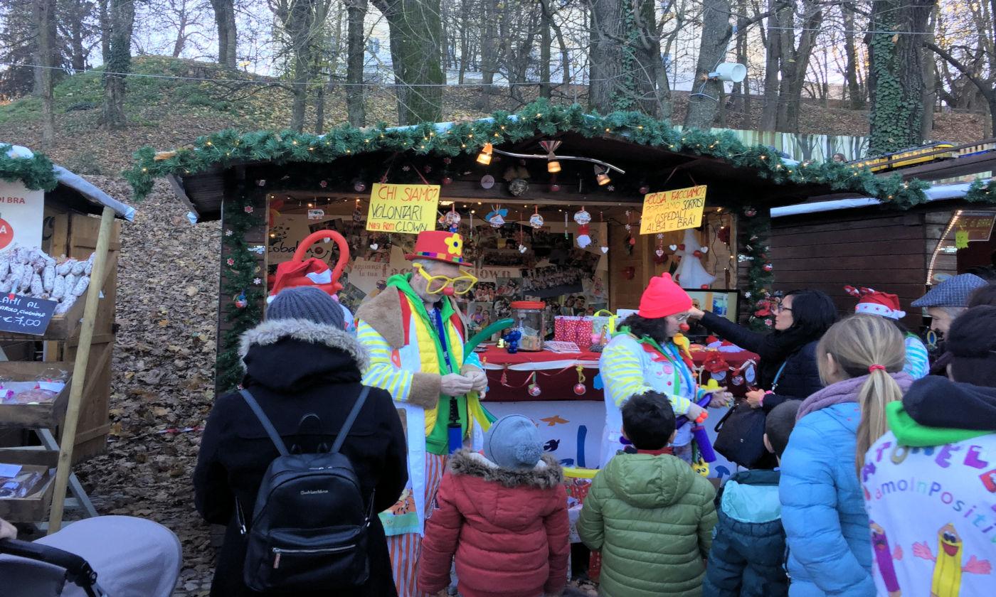 Govone e i mercatini di Natale in camper - Casette volontari