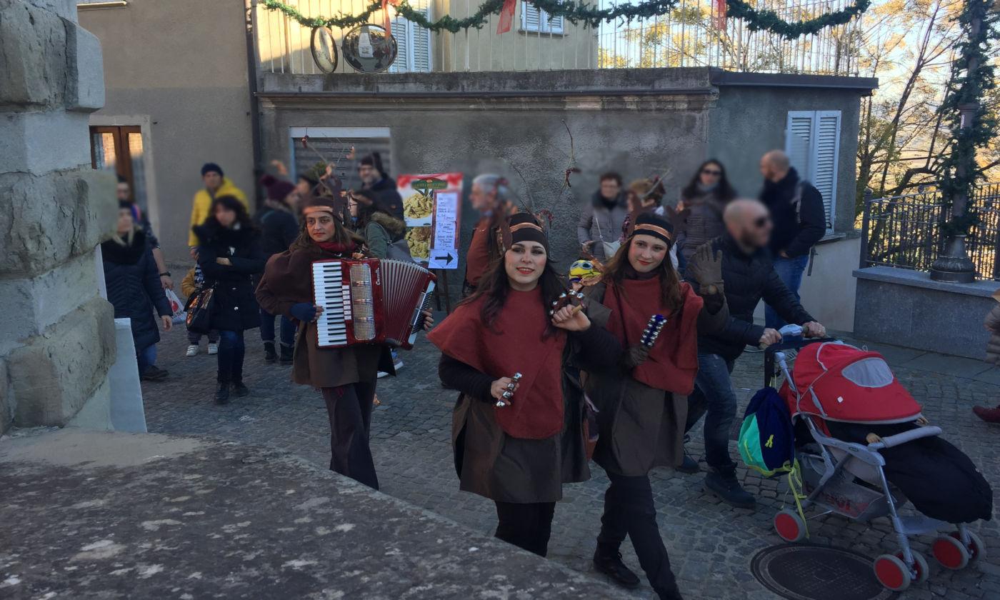 Govone e i mercatini di Natale in camper - Elfi