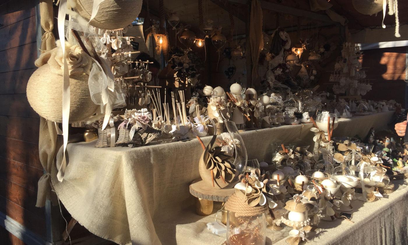 Govone e i mercatini di Natale in camper - Govone casetta