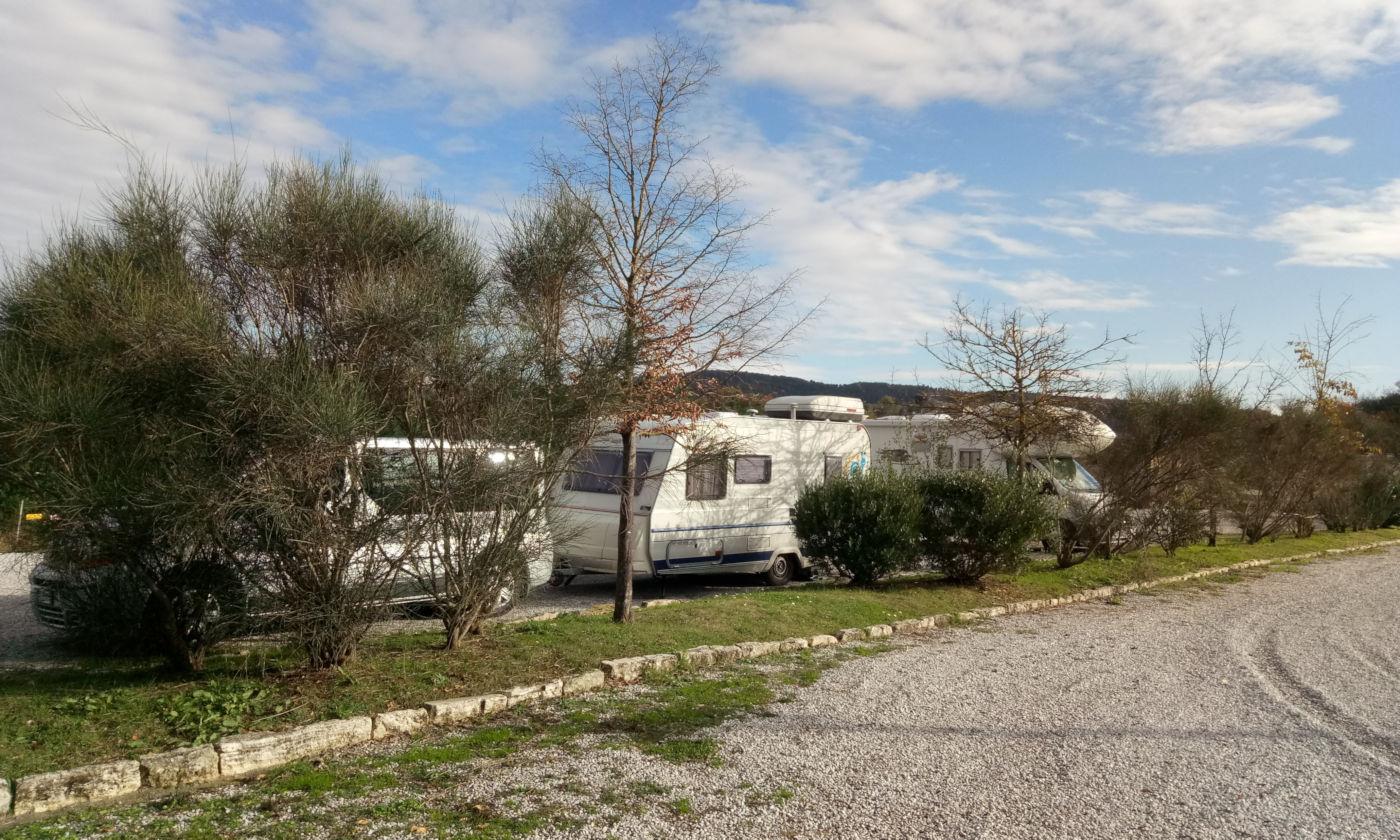 Toscana tra terme e borghi in caravan o camper - Area Rapolano Terme