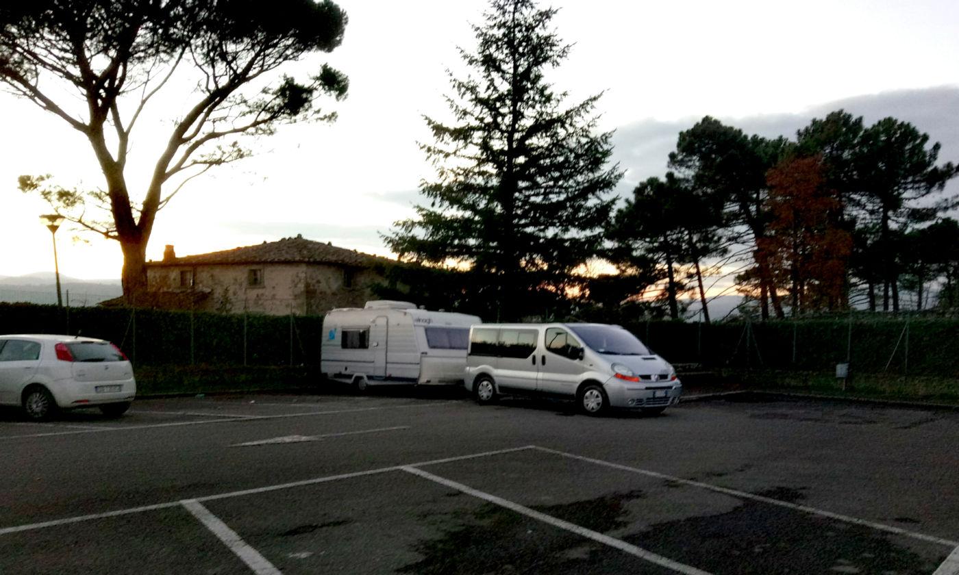 Toscana tra terme e borghi in caravan o camper - Area sosta Anghiari