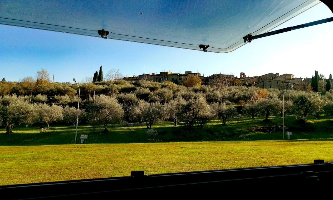 Toscana tra terme e borghi in caravan o camper - Luciniano
