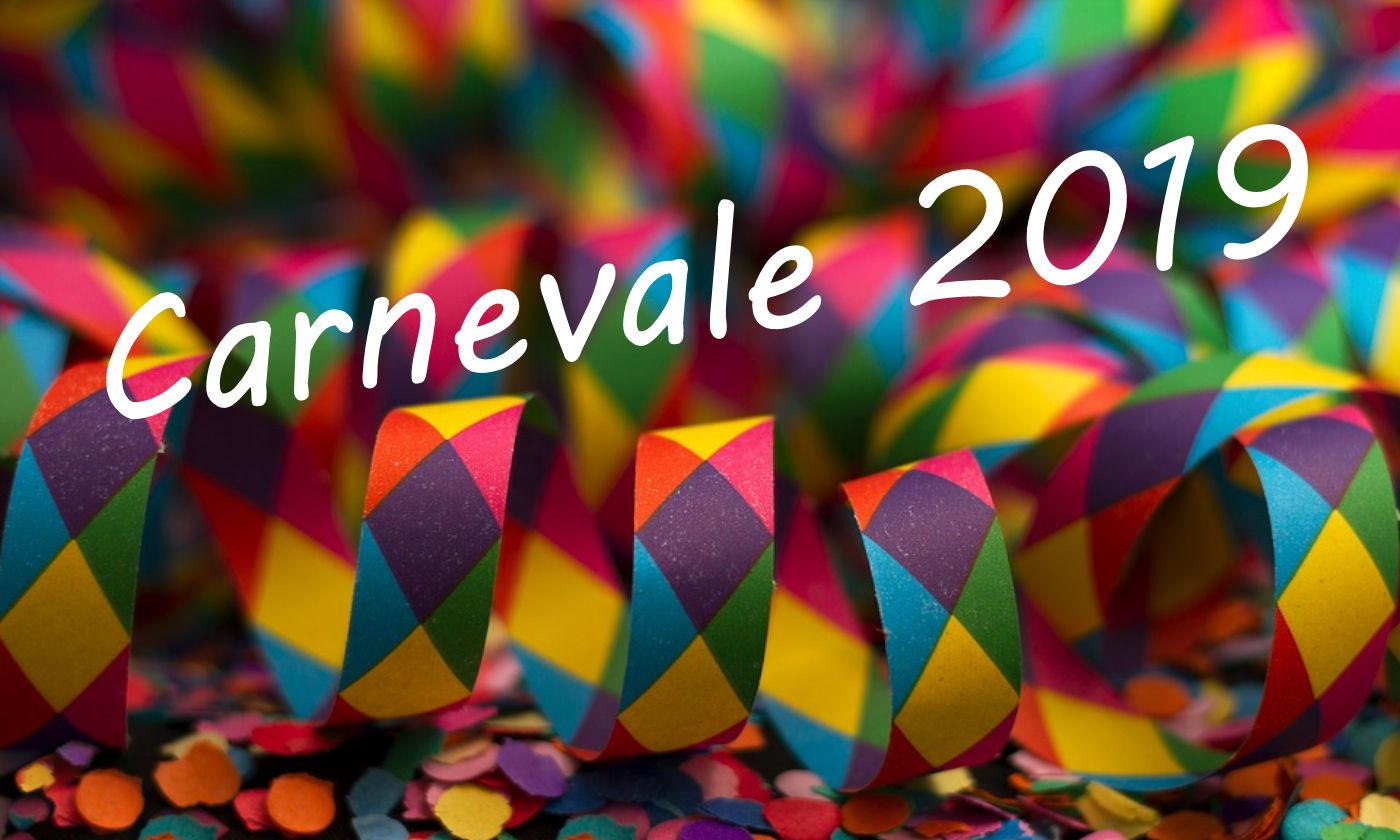 Carnevale in camper 2019 - Copertina