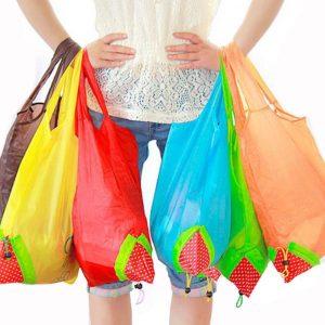 Cosa portare in camper - borse spesa pieghevoli