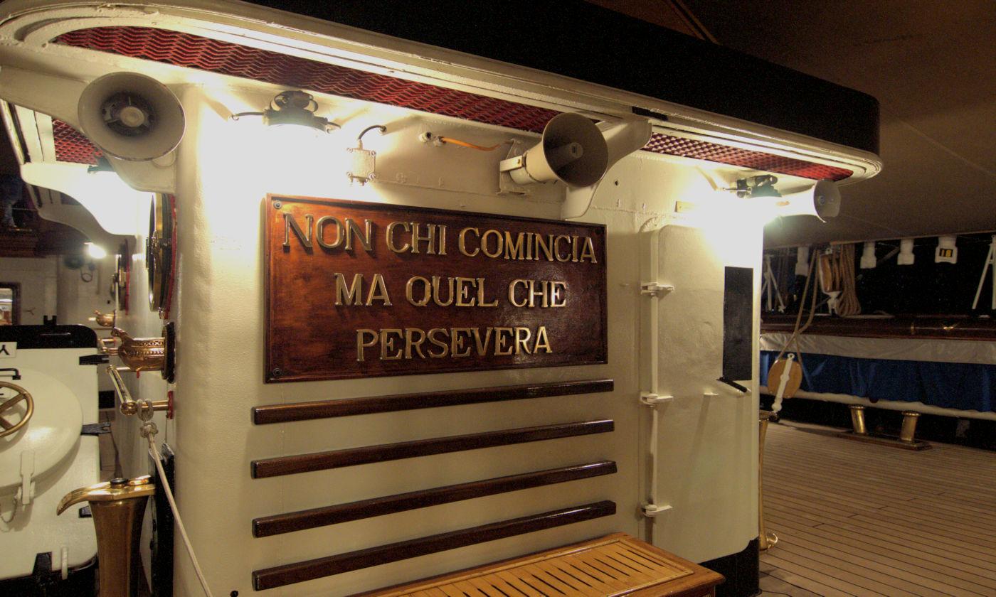 visitare l'amerigo Vespucci - Motto Amerigo Vespucci