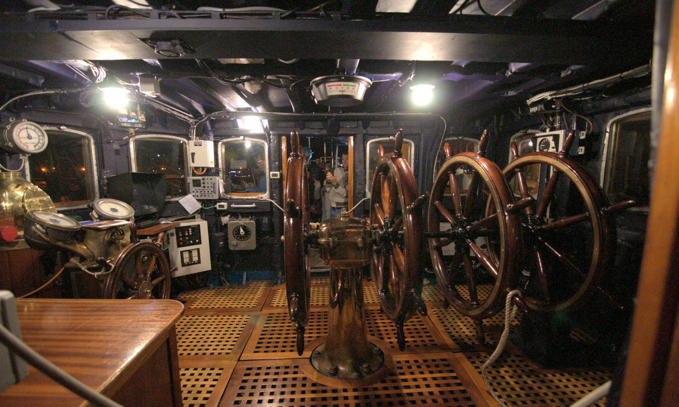 visitare l'amerigo Vespucci - Particolari a bordo