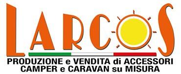 Nuove coperture dinette camper Larcos - Logo Larcos