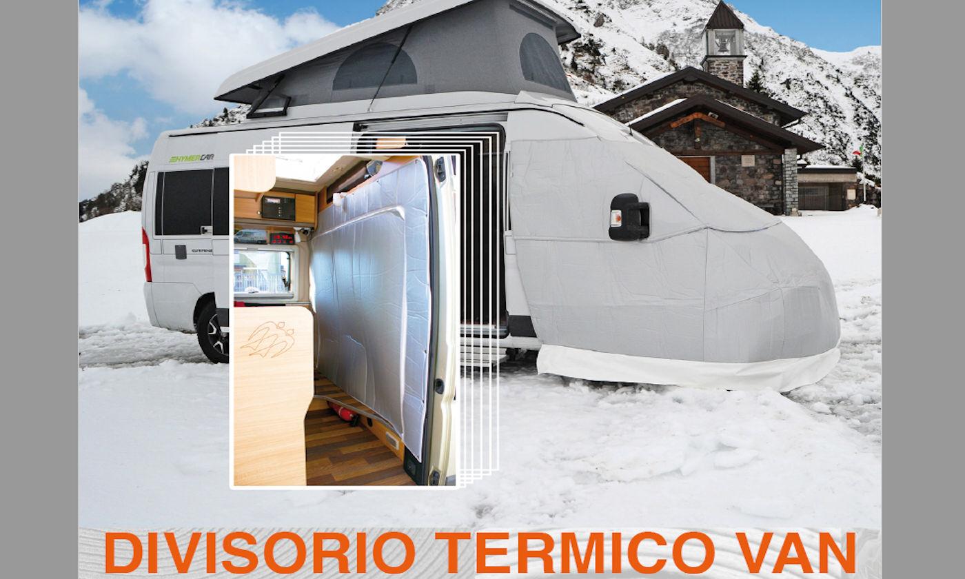 coperture dinette e coprisedili per camper Larcos - Divisorio termico