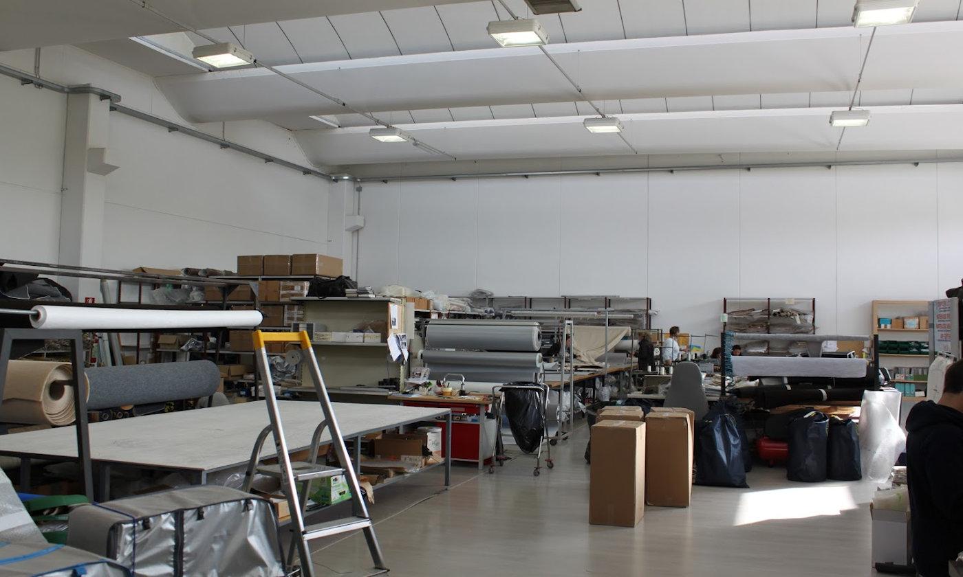 Nuove coperture dinette e coprisedili camper Larcos - Laboratorio Larcos 2