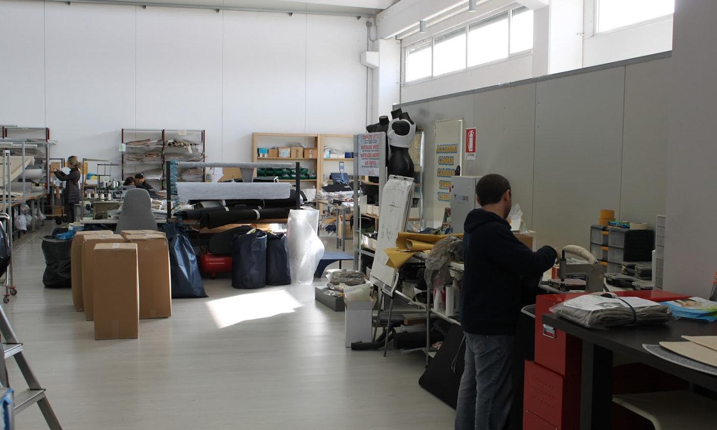 Nuove coperture dinette e coprisedili camper Larcos - Laboratorio Larcos