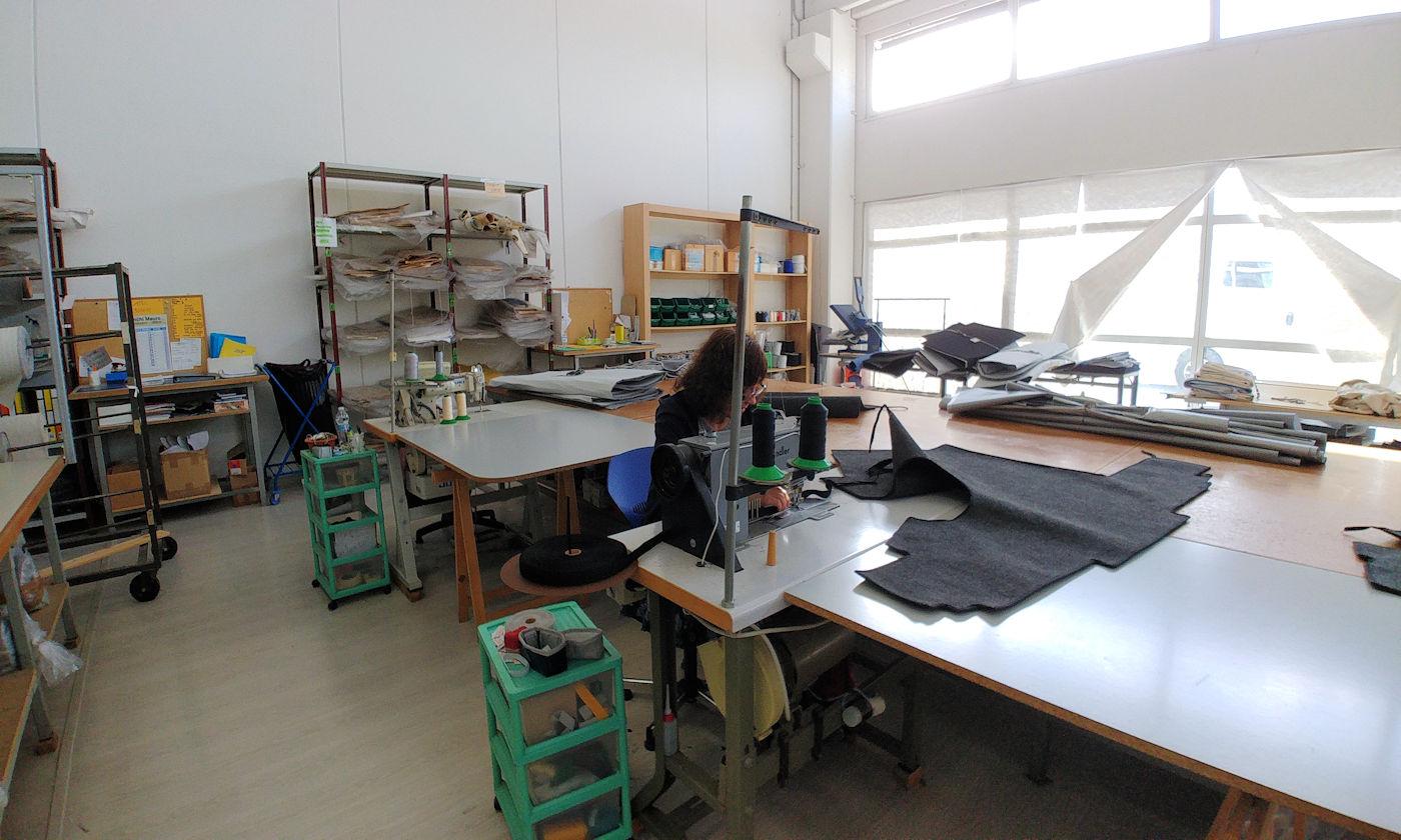 Nuove coperture dinette e coprisedili per camper Larcos - Sarte macchine da cucito