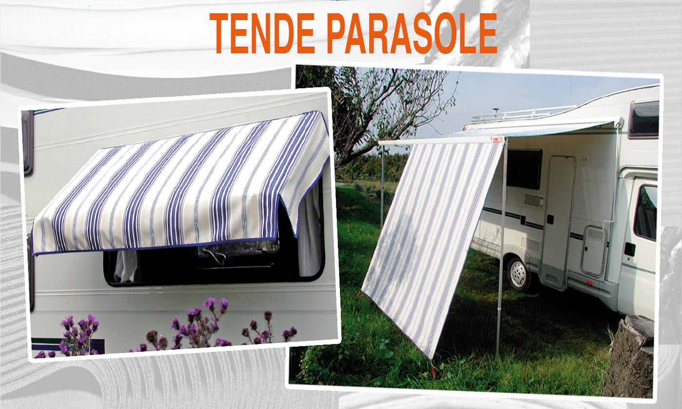 coperture dinette e coprisedili per camper Larcos - tende parasole