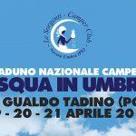 Raduno camper a Gualdo Tadino in Umbria