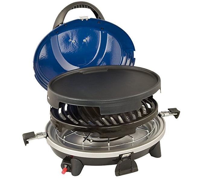 Barbecue a gas in camper e caravan - modello 3 in 1
