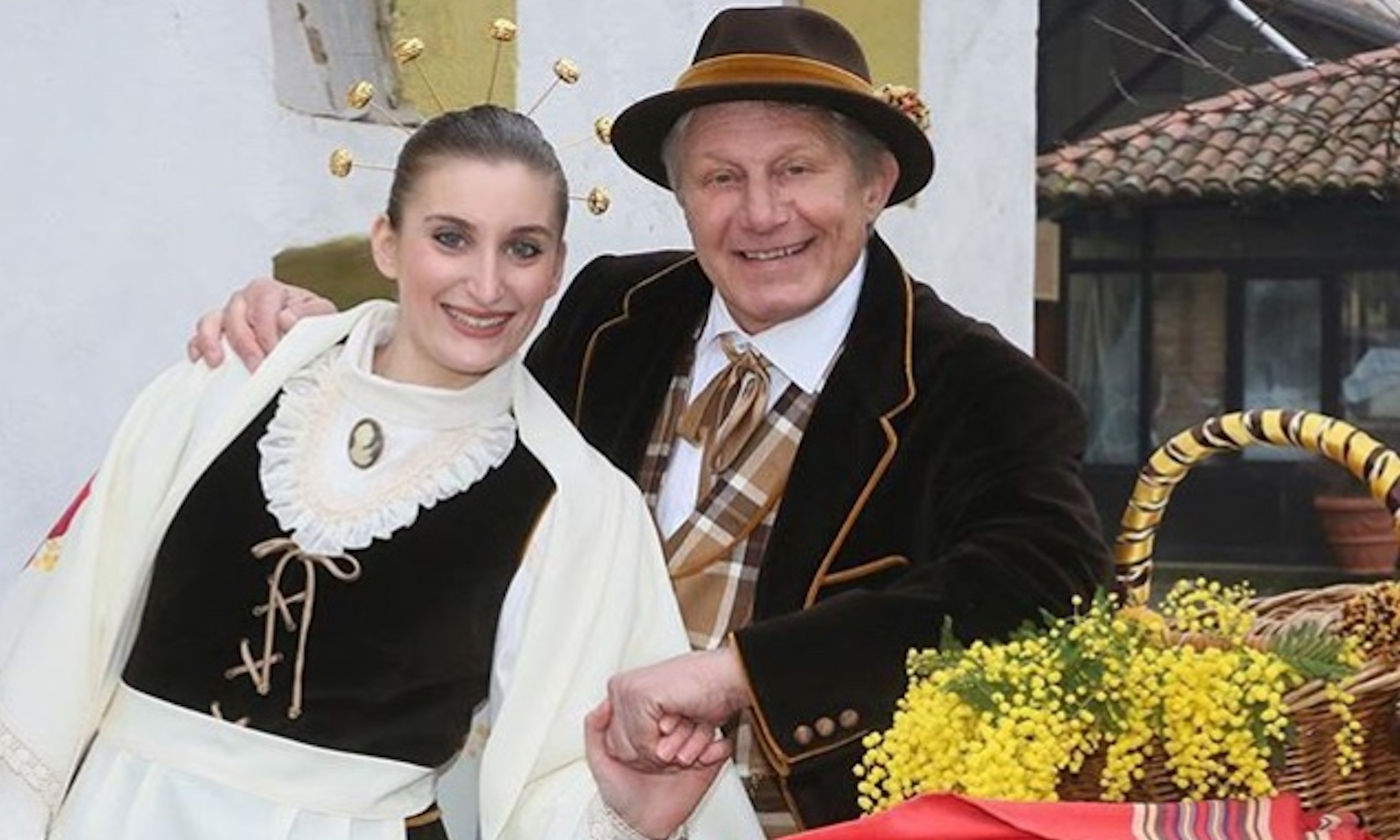 Carnevale di Santhià in camper - Stevulin e Majutin 2019