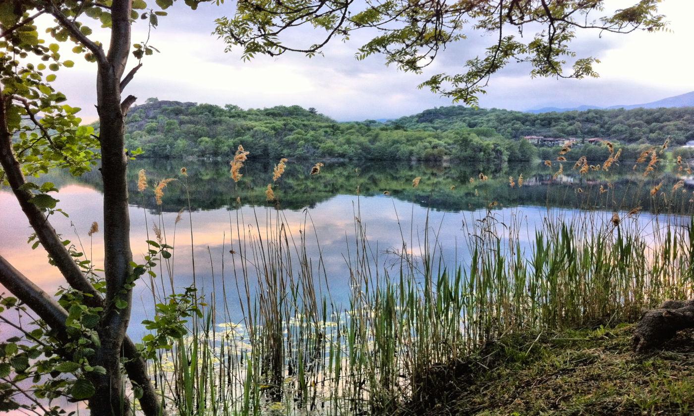 Piemonte Lago Sirio e le terre ballerine - Copertina