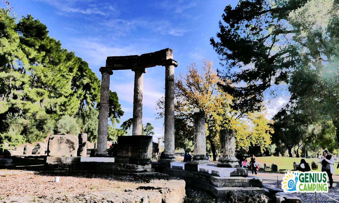 Viaggio itinerante in Grecia gli scavi di Olimpia - Olimpia copertina