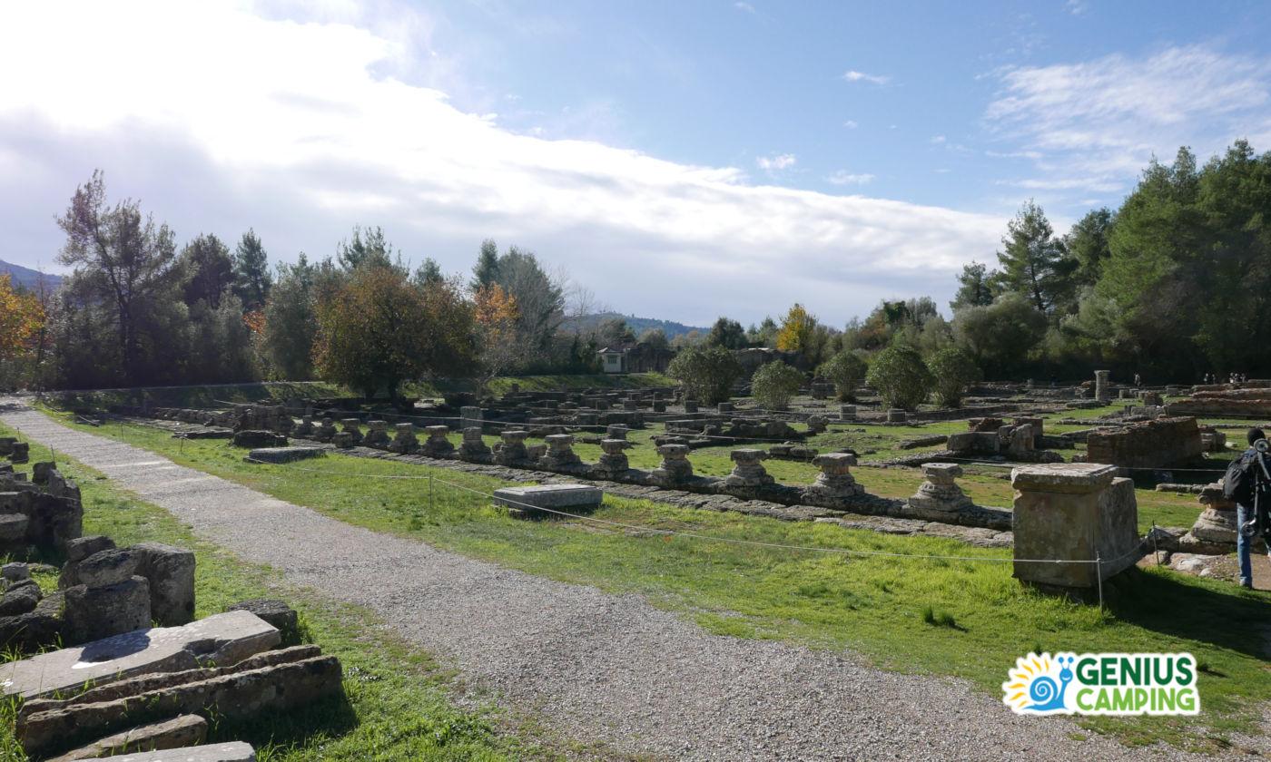 Viaggio itinerante in Grecia gli scavi di Olimpia - Olimpia scavi archeologici