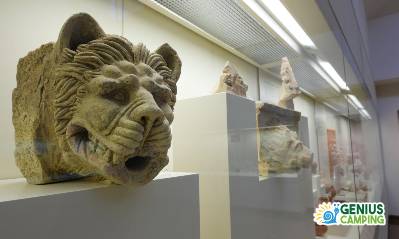 Viaggio itinerante in Grecia gli scavi di Olimpia - Reperti archeologici museo
